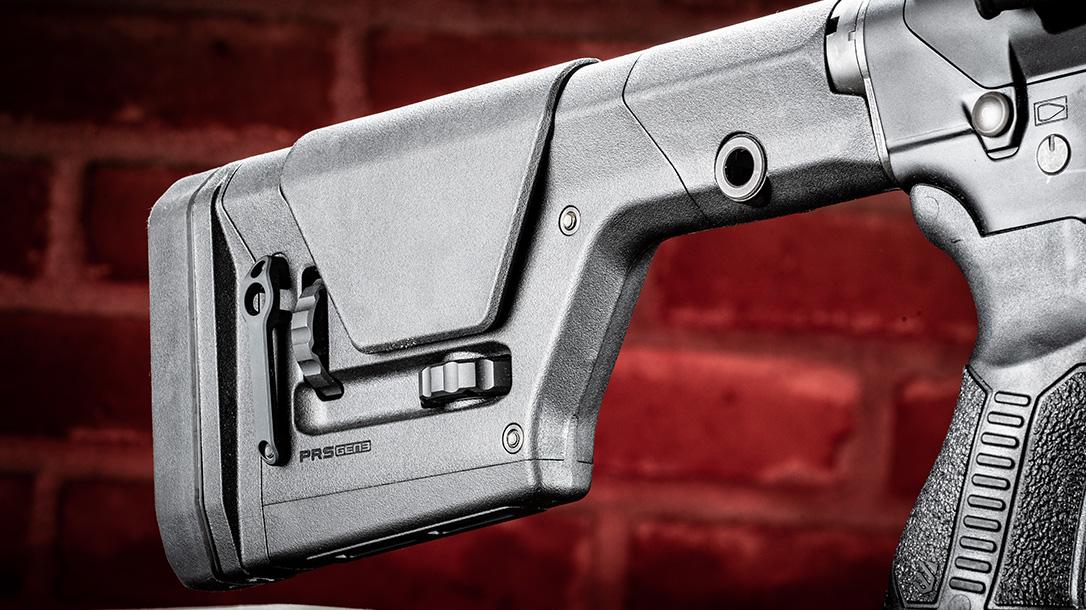 Savage MSR 10 Long Range Rifle review, Savage Arms, stock