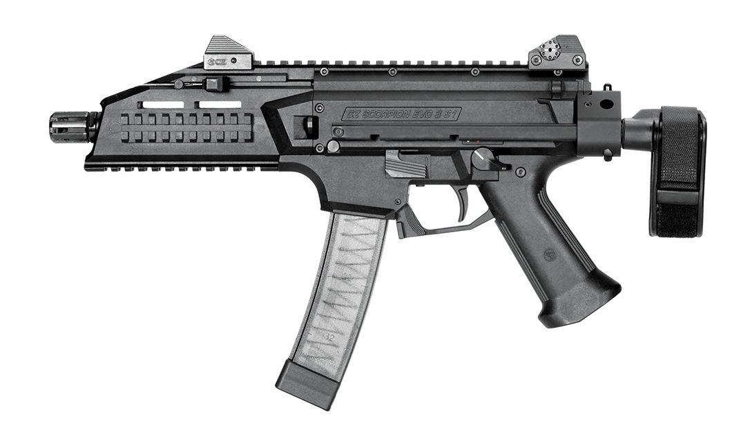 SB Tactical CZPDW Left