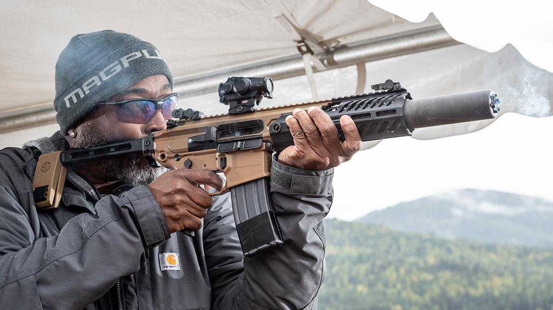 SIG MCX CaneBrake, SIG Sauer MCX Canebrake, .300 BLK Rifle, range
