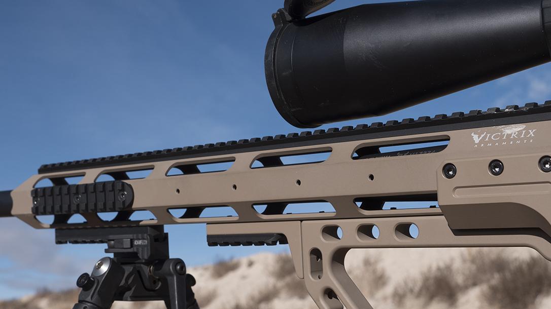 Victrix Armaments scorpio review, handguard
