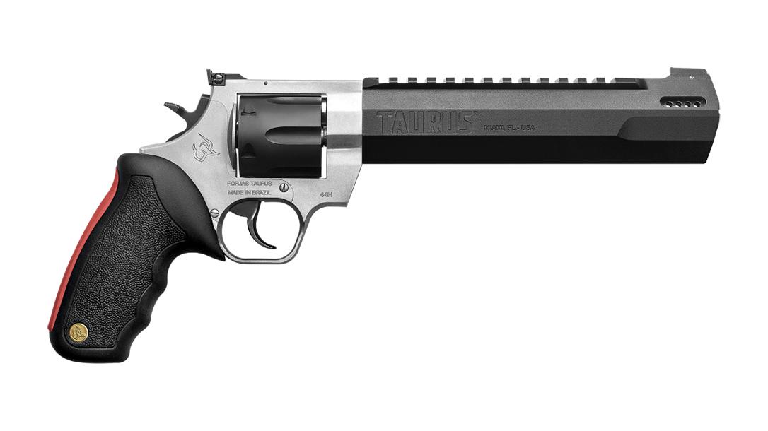 Taurus Raging Hunter, right, .357 magnum