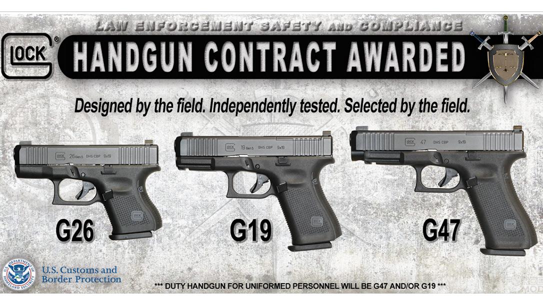 US Border Patrol, Glock Gen 5 Pistols, Duty Handgun