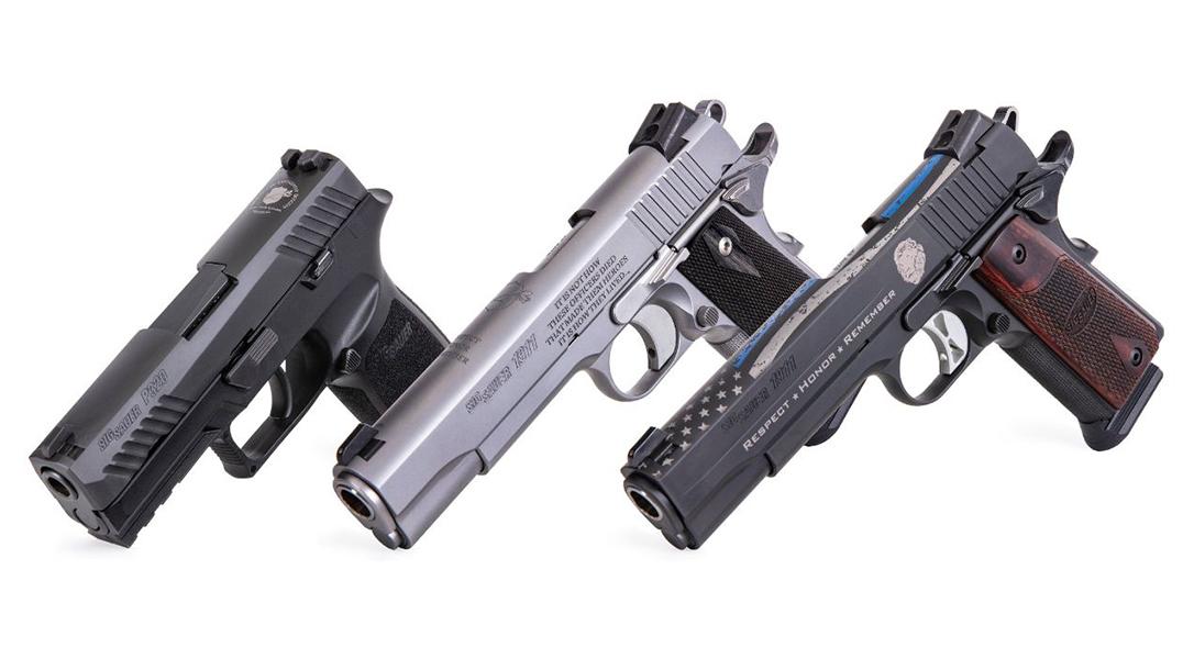 SIG Sauer Commemorative Pistols