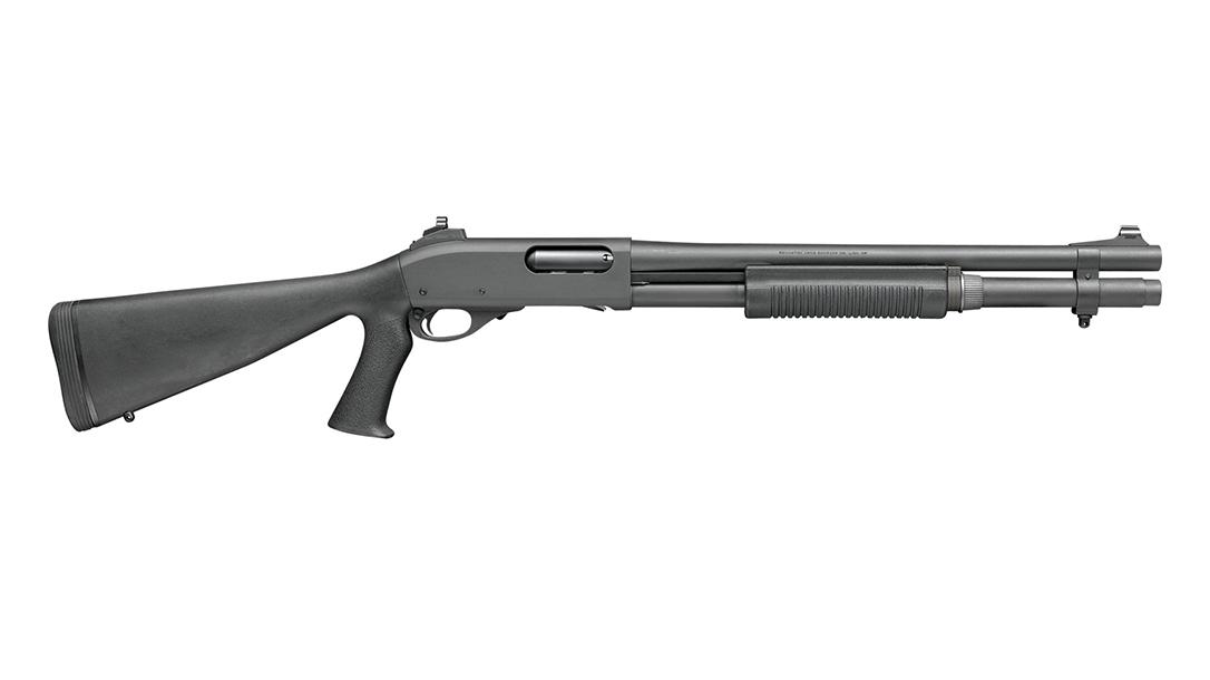 Remington Defense 870 Police Shotgun Ghost Ring Pistol Grip