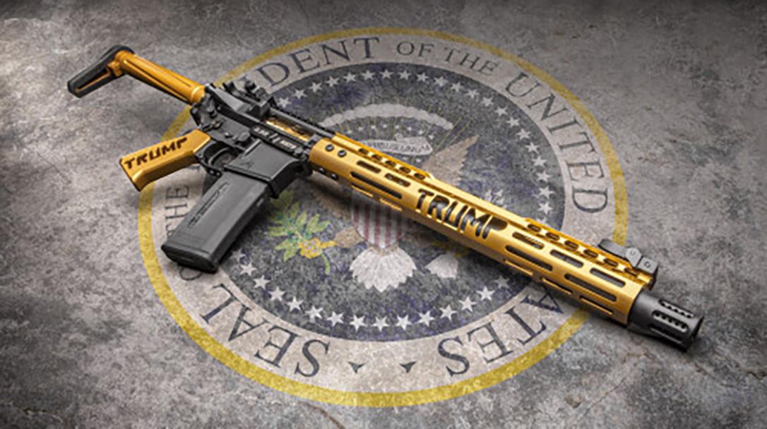 Guntec Trump Series MAGA rifle