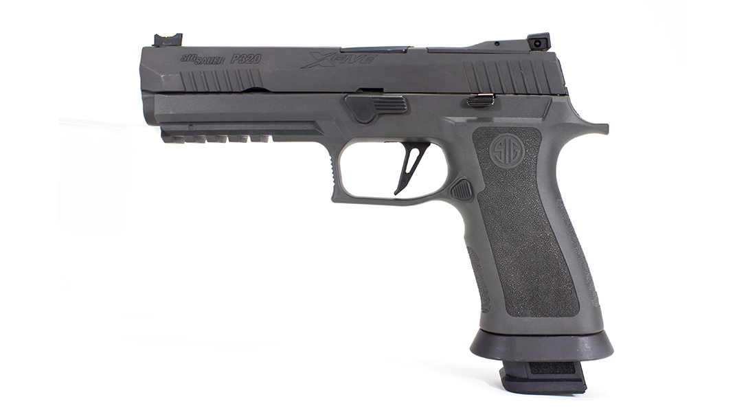 The SIG P320 X5 Legion Pistol left