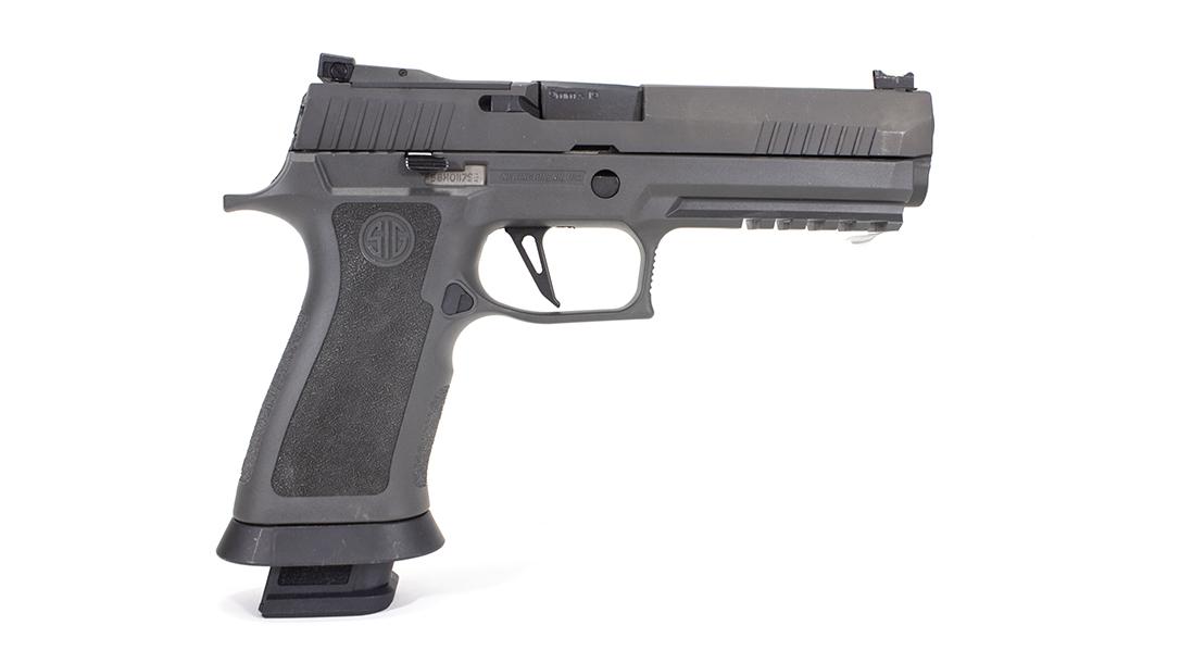The SIG P320 X5 Legion Pistol right