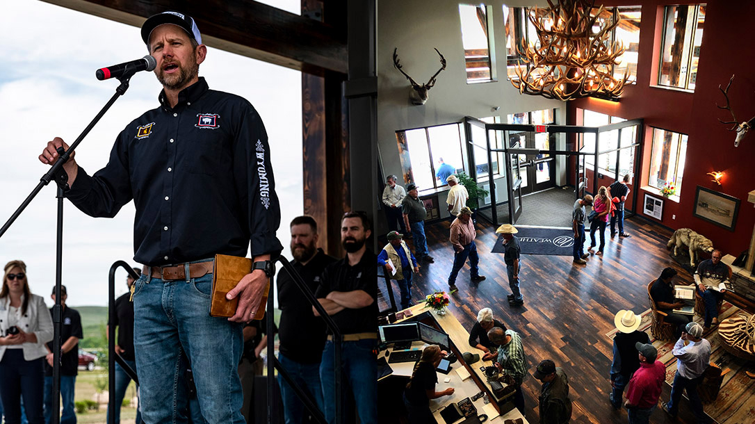 Weatherby Inc. Opened its doors in Wyoming