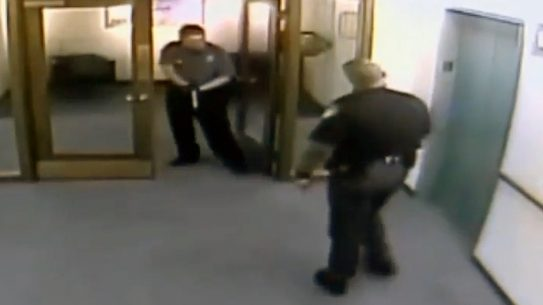 IRS Security Guard Pulls on Lucas County Sheriff's Deputy