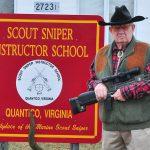 Major Land at Scout Sniper School