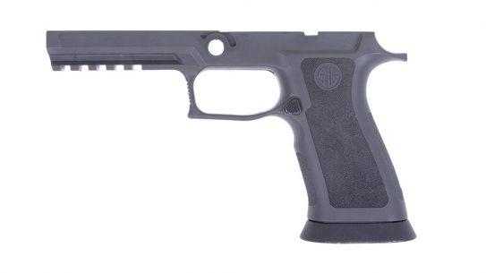 SIG P320 TXG Grip Module has weight of steel, flex of polymer