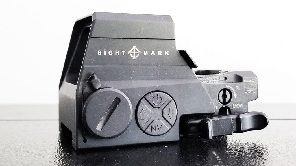 Sightmark Ultra Shot M-Spec LQD Reflex Sight used in torture test