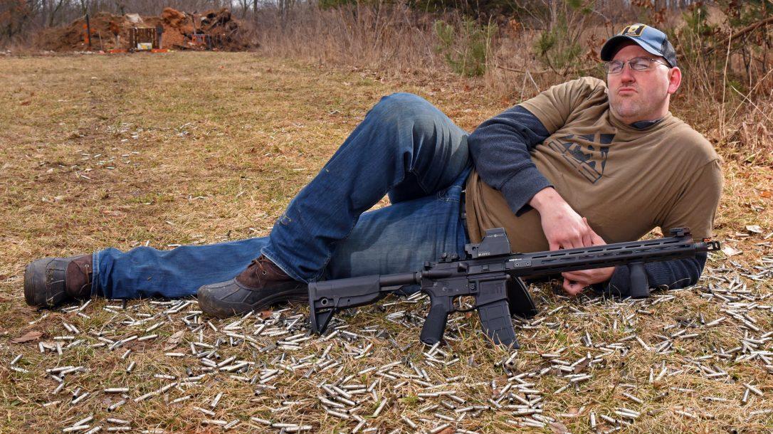 Gun Torture Test gear, aftermath
