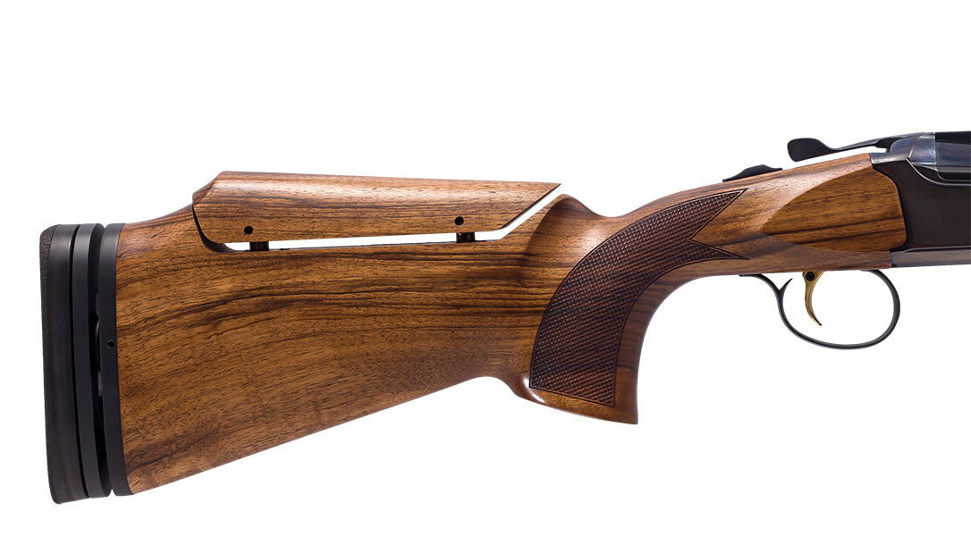 The All-American utilizes an adjustable stock for custom fit.