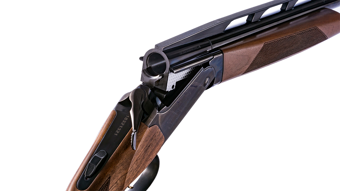 The All-American utilizes drop-in replacement parts for high-volume shooting.