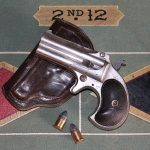 A Remington Model 95 paired with soft leather pouch-type holster