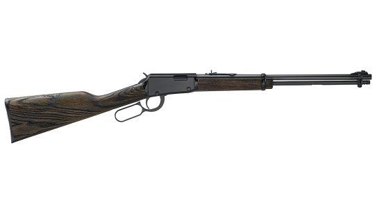 The Henry Garden Gun Smoothbore fires .22 shotshells.