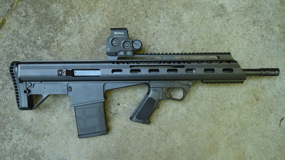 K&M Arms M17S308 bullpup design