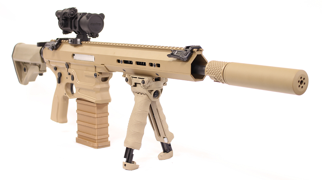 The MARS NGSW submission for carbine features a 13-inch barrel.