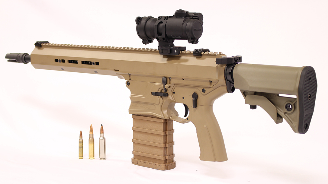 Little is known about the government-provided 6.8mm ammo for the NGSW submission.
