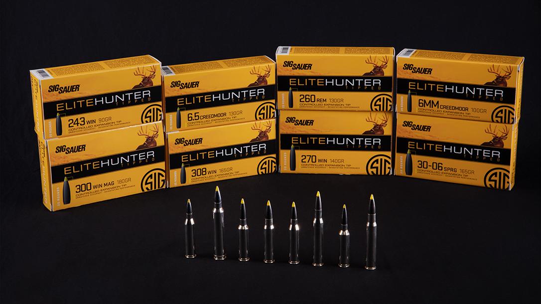 SIG Sauer Elite Hunter Tipped ammo