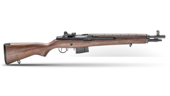 Springfield Armory M1A Tanker blends Garand with SOCOM 16.