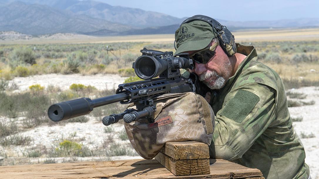 Shooting the Tikka T3x TAC A1.