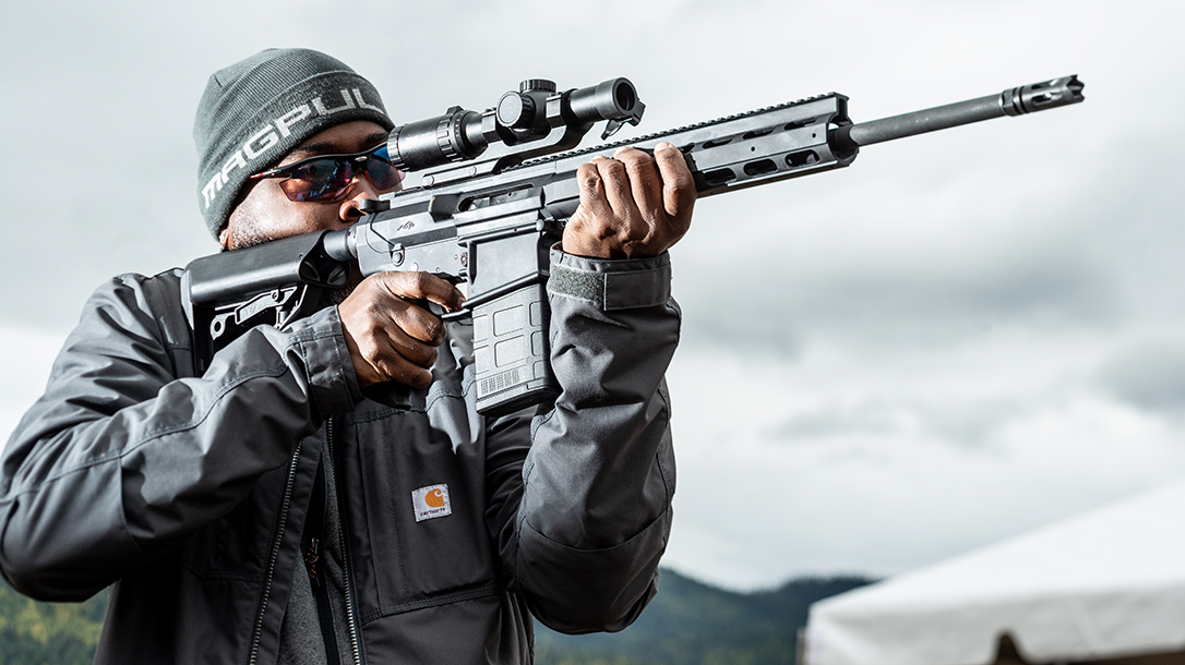 The Anderson AM-10 Hunter brings a unique approach to the AR-10-style rifle.
