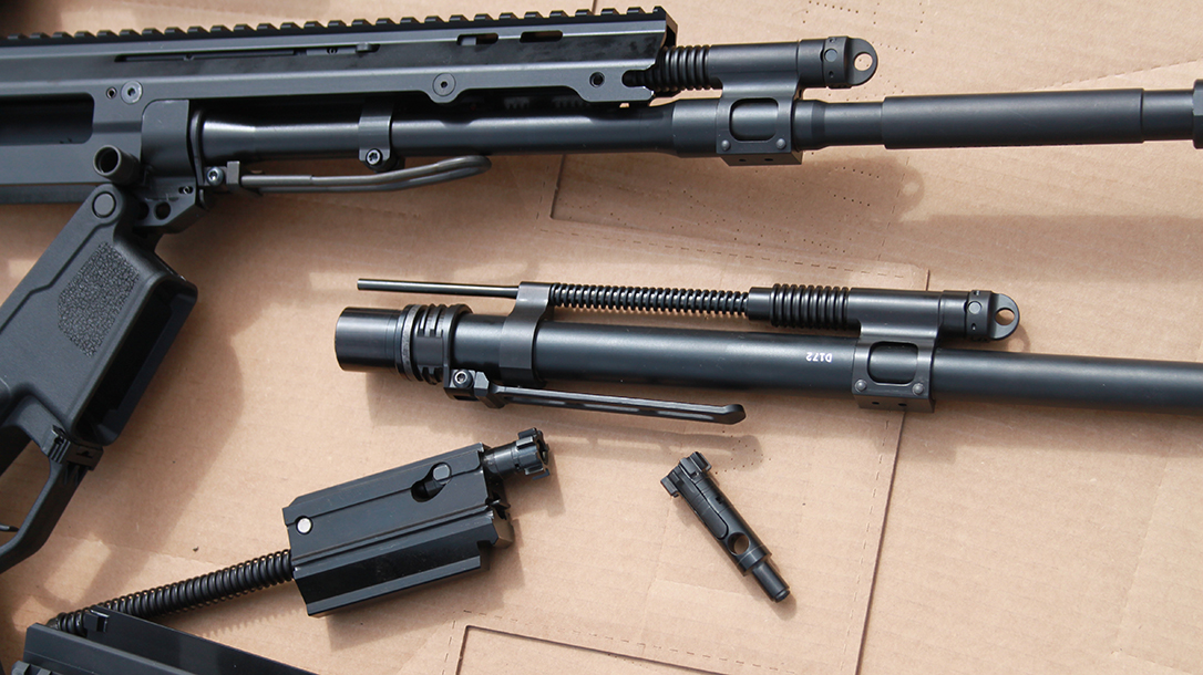 Bushmaster ACR Enhanced exploded view.
