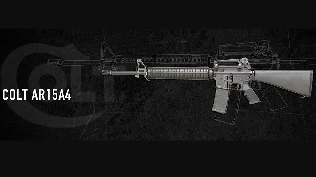 Colt issues statement regarding rifles sales to consumer market.