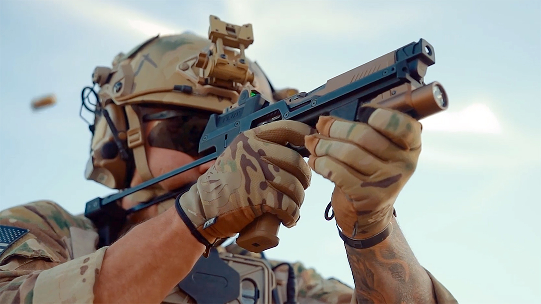 The Flux Defense MP17 turns the M17 into an SBR.