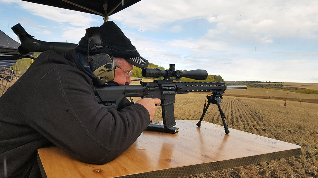 The author sent five magazines of rounds downrange during testing.
