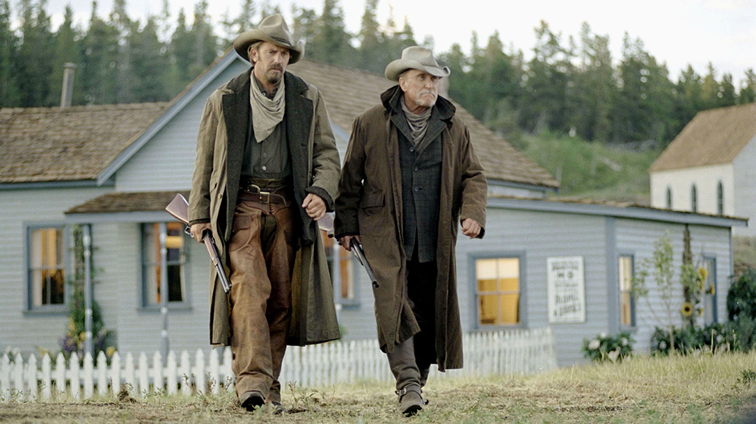 Kevin Costner carried a Winchester 1873 in Open Range
