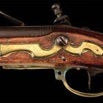 Dutch Flintlock musket, receiver.
