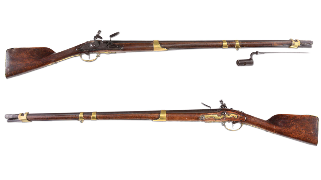 Bunker Hill Gun was a Dutch Flintlock mustket carried by John Simpson.