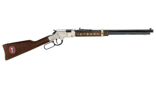 The Henry Eagle Scout Tribute is a beautifully appointed rifle.
