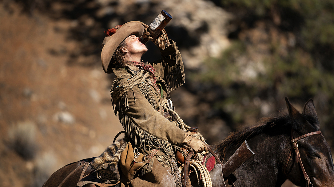 Always ready for a drink or a fight, Calamity Jane always carried guns in Deadwood.