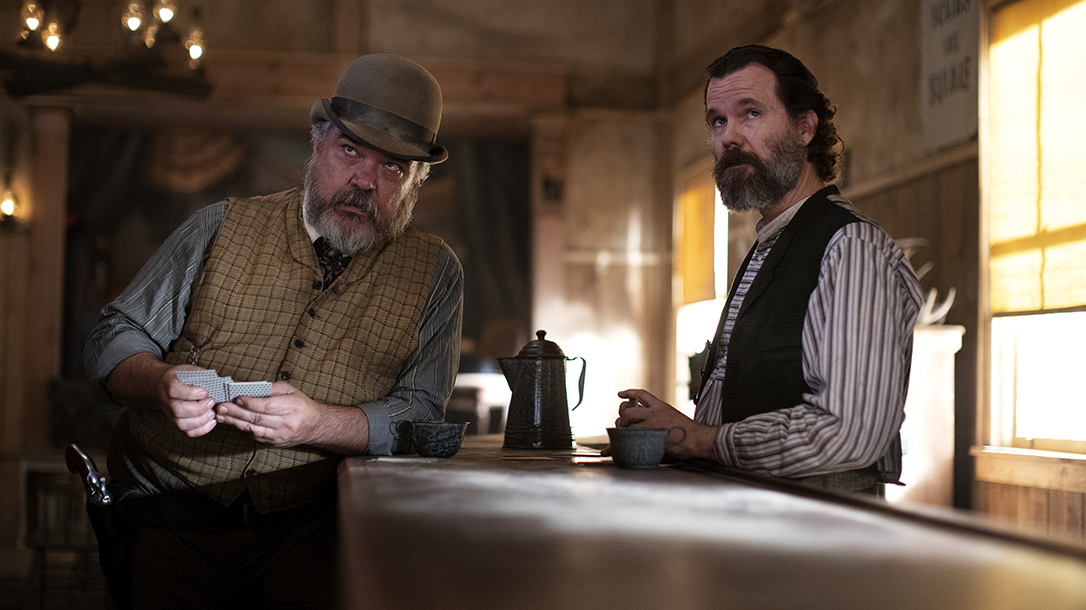 Lots of colorful characters and guns graced the screen in Deadwood.
