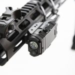 The author tested his rifle with laser accessories from Viridian.