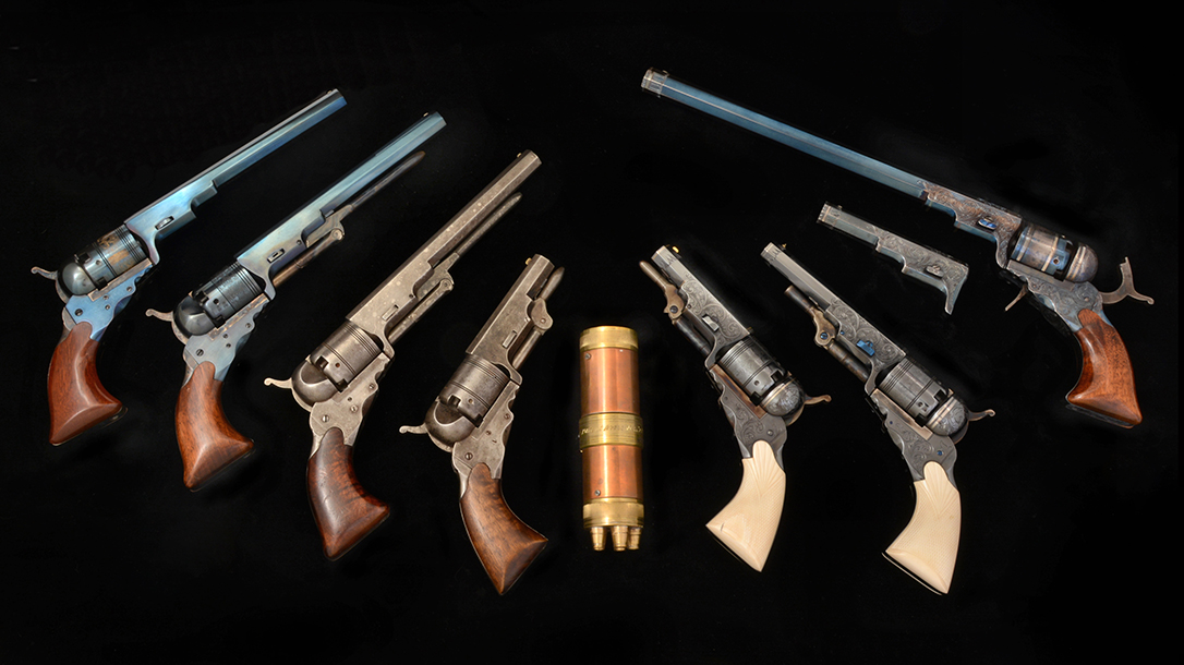 Colt Paterson, original and reproduction, are hard to come by.