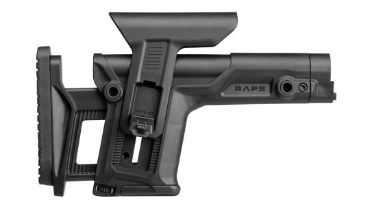The Fab Defense RAPS system was built for long-range competition.
