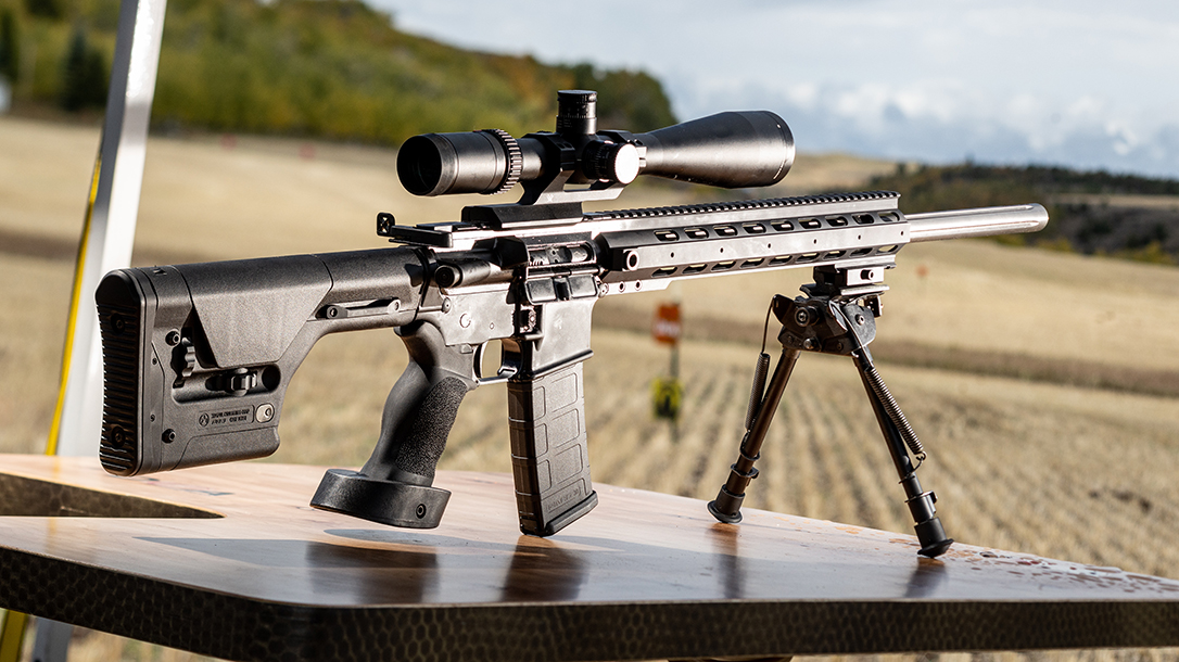 The Anderson AM15 Sniper Rifle is built to go long.