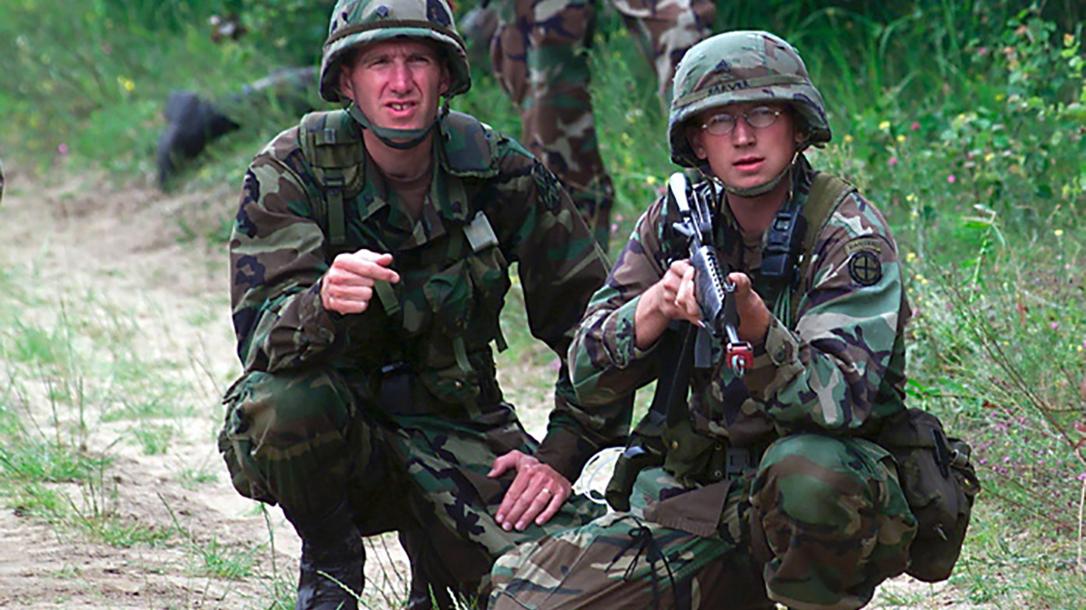 BDU Woodland camouflage, U.S. Army National Guardsmen