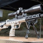 The Desert Tech SRS A2 Covert is a short, compact sniping platform.