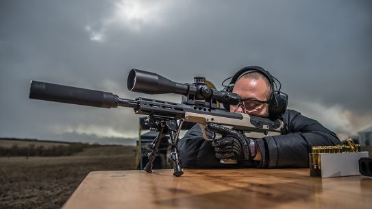 Suppressor-ready and in capable long-range calibers, the SRS A2 Covert proved excellent in the field.