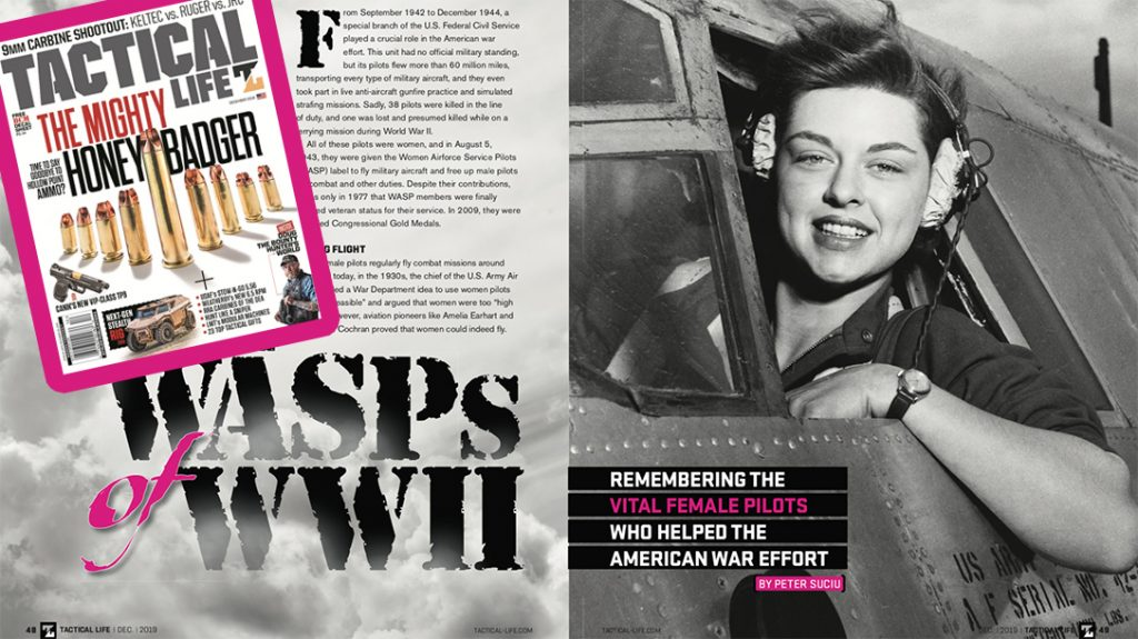 WASPs flew missions during WWII.