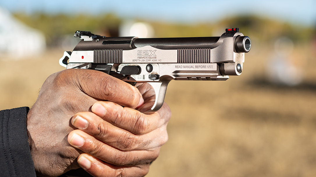 The new Beretta 92X Performance is built with IPSC competition in mind.