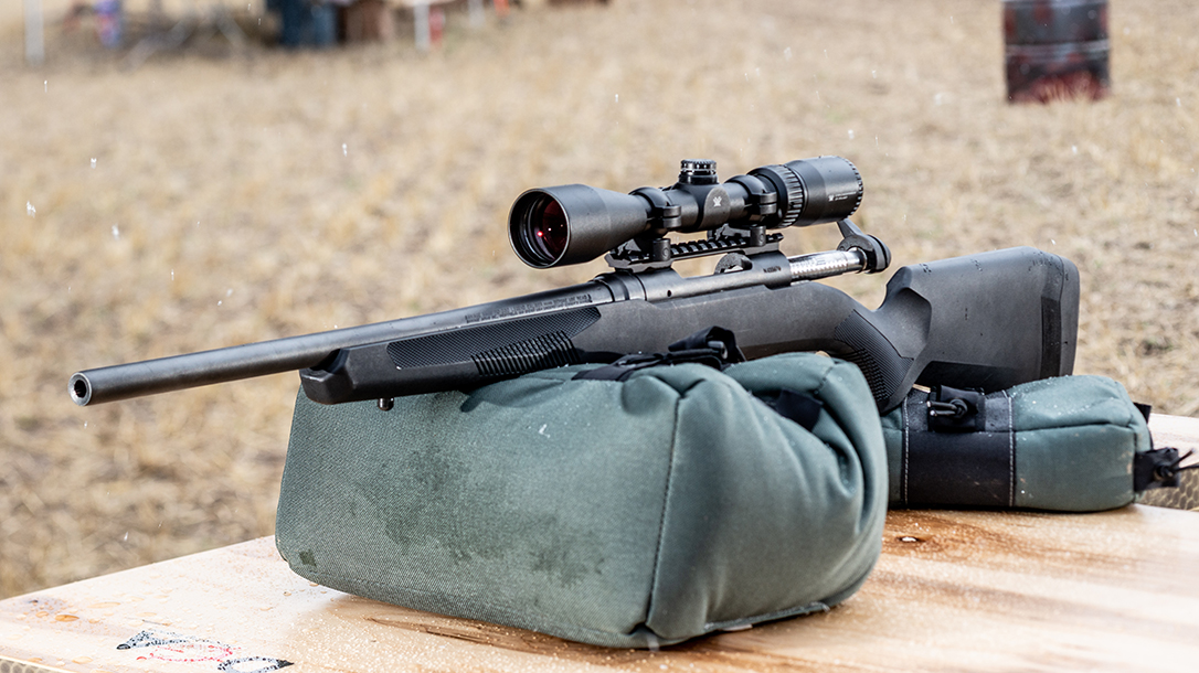 The Savage 110 Apex Hunter XP proved accurate during testing.