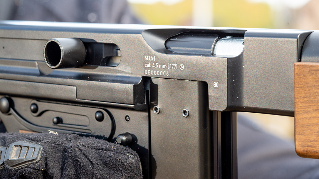 With functioning controls and full-auto fire, the Umarex Legends M1A1 provides loads of fun.