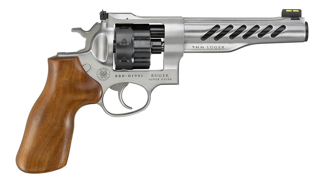 Ruger Super GP100 Competition,, The overall fit, finish and upgrades make this custom shop revo ready to race.